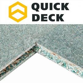 ДСП влагостойкая шпунтованная QuickDeck